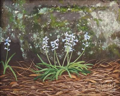 Painting - Spanish Bluebells by Carla Dabney