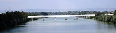 Photograph - Spanish Bridge On The Way To Seville Spain by John Shiron