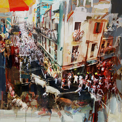 Matador Painting - Spanish Culture 11 by Corporate Art Task Force