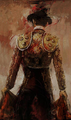 Flamenco Painting - Spanish Culture 2 by Corporate Art Task Force
