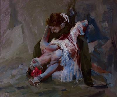 Senorita Painting - Spanish Culture 24b by Corporate Art Task Force