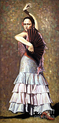 Painting - Spanish Dancer by Ekaterina Stoyanova