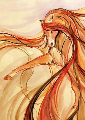 Gypsy Mixed Media - Spanish Dancer by Jennifer Fosgate
