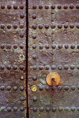 Photograph - Spanish Door by Carlos Caetano