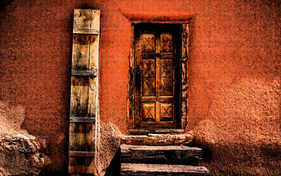 Art Print featuring the photograph Spanish Door by Kathleen Stephens