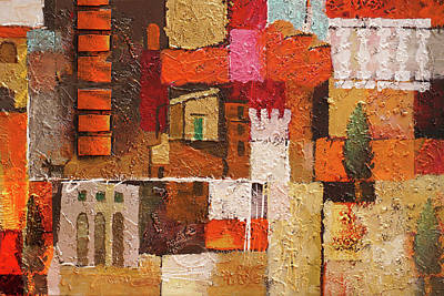 Painting - Spanish Elements by Lutz Baar