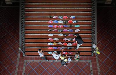 Espana Photograph - Spanish Fans Sale by Carlos Caetano