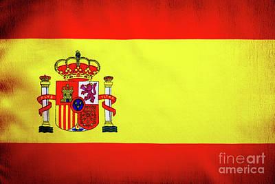 Photograph - Spanish Flag by Anna Om