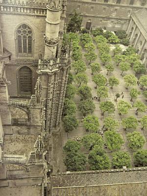 Photograph - Spanish Garden by JAMART Photography