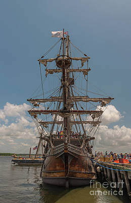 Photograph - Spanish Galeon by Dale Powell
