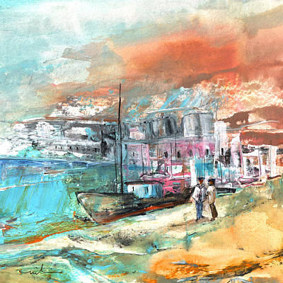 Painting - Spanish Harbour 08 by Miki De Goodaboom