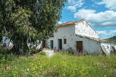 Photograph - Spanish House In Spring by Piet Scholten