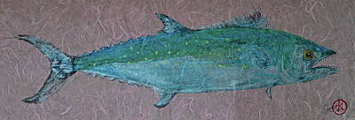 Mixed Media - Spanish Mackerel - Jack Mackerel - Scad by Jeffrey Canha