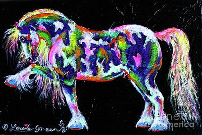 Painting - Spanish Magic Cob by Louise Green