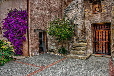Photograph - Spanish Mission's Back Entrance.  by Patrick Boening