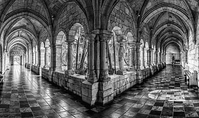 Spanish Monastery Art Print