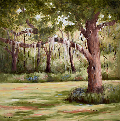 Painting - Spanish Moss by Glenda Cason