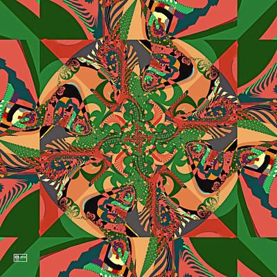 Digital Art - Spanish Moss by Jim Pavelle