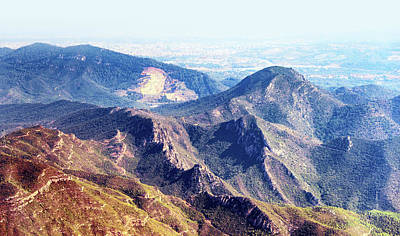 Spanish Mountains Landscape Art Print