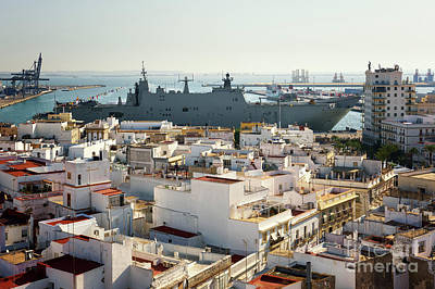 Photograph - Spanish Navy Ship Juan Carlos I Cadiz Spain by Pablo Avanzini