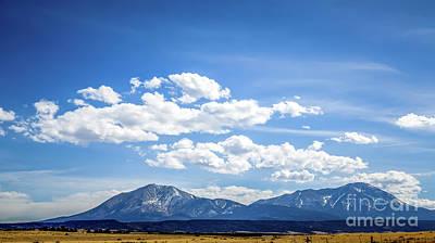 Trinidad Colorado Photograph - Spanish Peaks by Jon Burch Photography