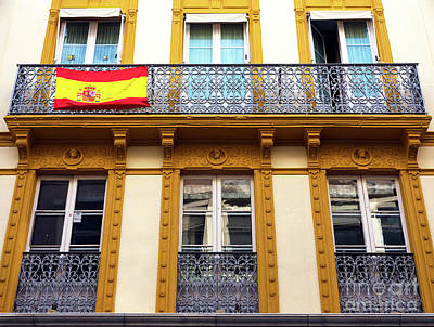 Photograph - Spanish Pride In Seville by John Rizzuto