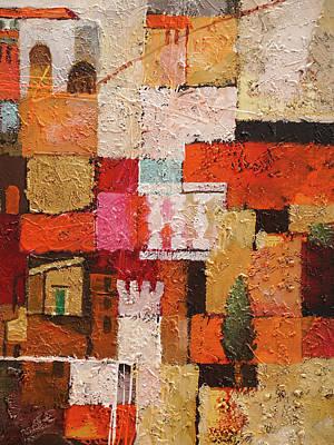 Painting - Spanish Rhapsody by Lutz Baar