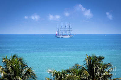 Photograph - Spanish Ship Juan Sebastian Elcano Royal Spanish Navy by Rene Triay Photography