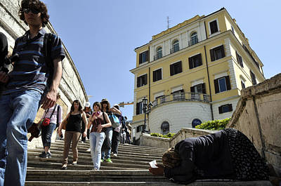 Photograph - Spanish Steps by Andrew Dinh