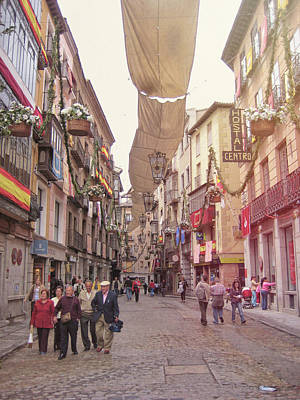 Photograph - Spanish Street by JAMART Photography