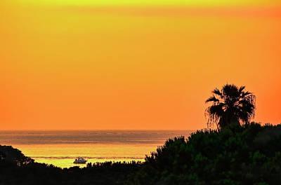 Sunrise Photograph - Spanish Sunrise by Nadia Sanowar