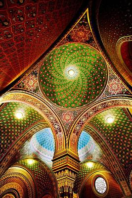 Synagogue Digital Art - Spanish Synagogue by John Galbo