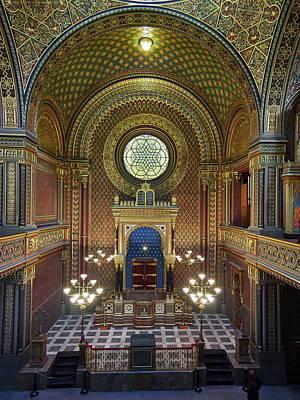 Spanish Synagogue Photograph - Spanish Synagogue. Prague Spring 2017 by Jouko Lehto
