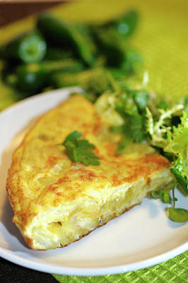Photograph - Spanish Tortilla by Jean Gill