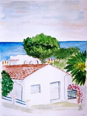 Spanish Vacation Art Print