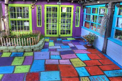 San Diego Artist Photograph - Spanish Village Art Center by Jane Linders