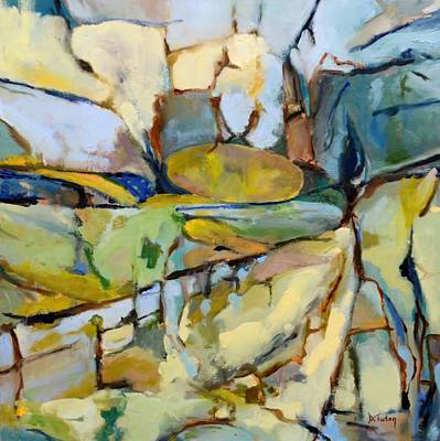 Painting - Spanish Vineyard by Donna Tuten