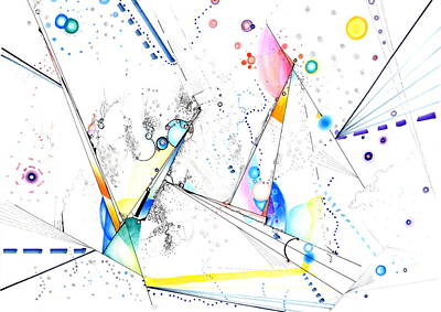 Drawing - Spanning The Void by Regina Valluzzi