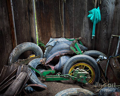 Spare Tires A-plenty Art Print by Royce Howland