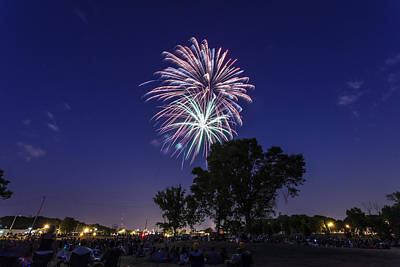 4th July Photograph - Spark And Bang by CJ Schmit