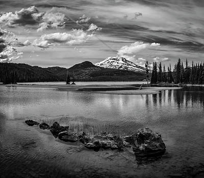 Photograph - Spark Lake Moments by Steven Clark
