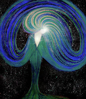 Spark Of Life V2 Art Print by NARI - Mother Earth Spirit