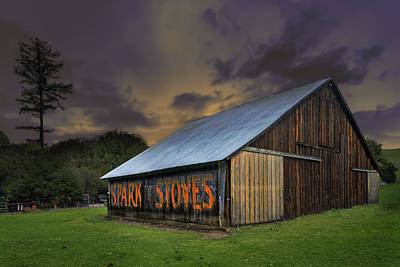 Photograph - Spark Stoves Barn Art by Laura Macky