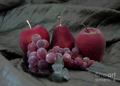 Art Print featuring the photograph Sparkeling Fruits by Sherry Hallemeier