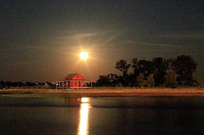 Photograph - Sparking Strawberry Moon by Catie Canetti