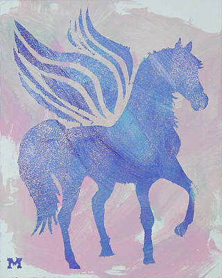 Painting - Sparkle Pegasus by Candace Shrope