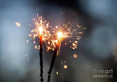 Photograph - Sparkler by Kati Finell