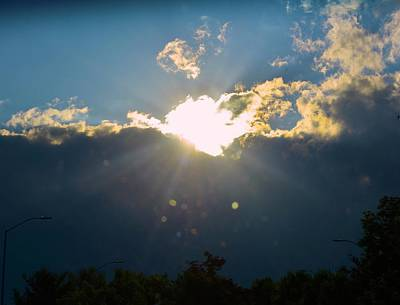 Photograph - Sparkles From Heaven by Tracy Rice Frame Of Mind