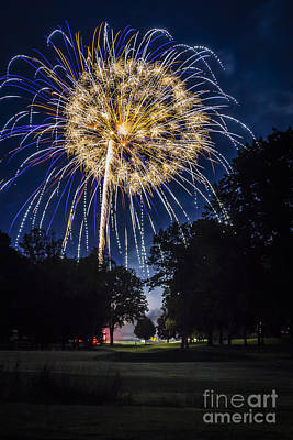Photograph - Sparkling 4th Of July by Joann Long
