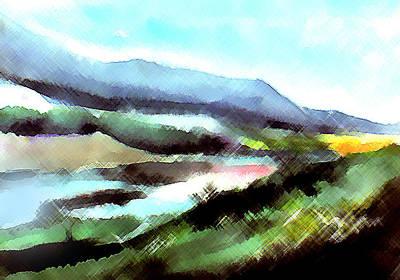 Anil Nene Painting - Sparkling by Anil Nene